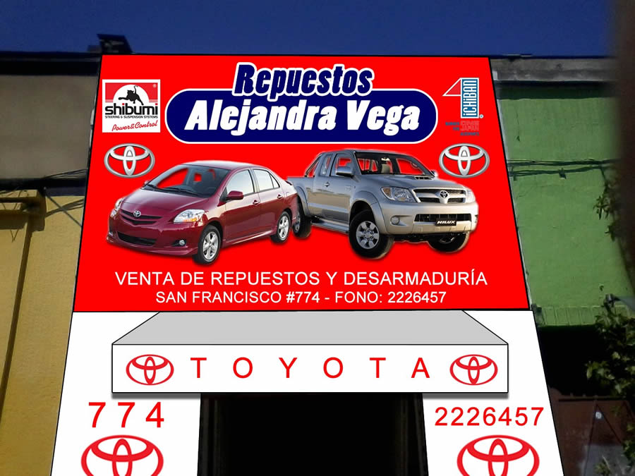 Repuestos Toyota Alejandra Vega