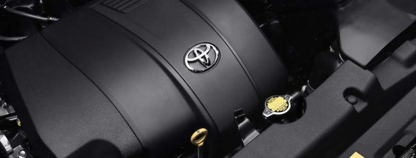 Cuidados del motor Toyota